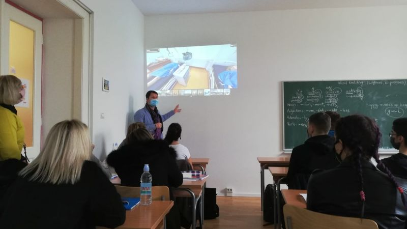 Presentation of project results to...